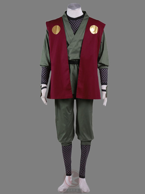 Jiraiya Cosplay Costume Whole Set
