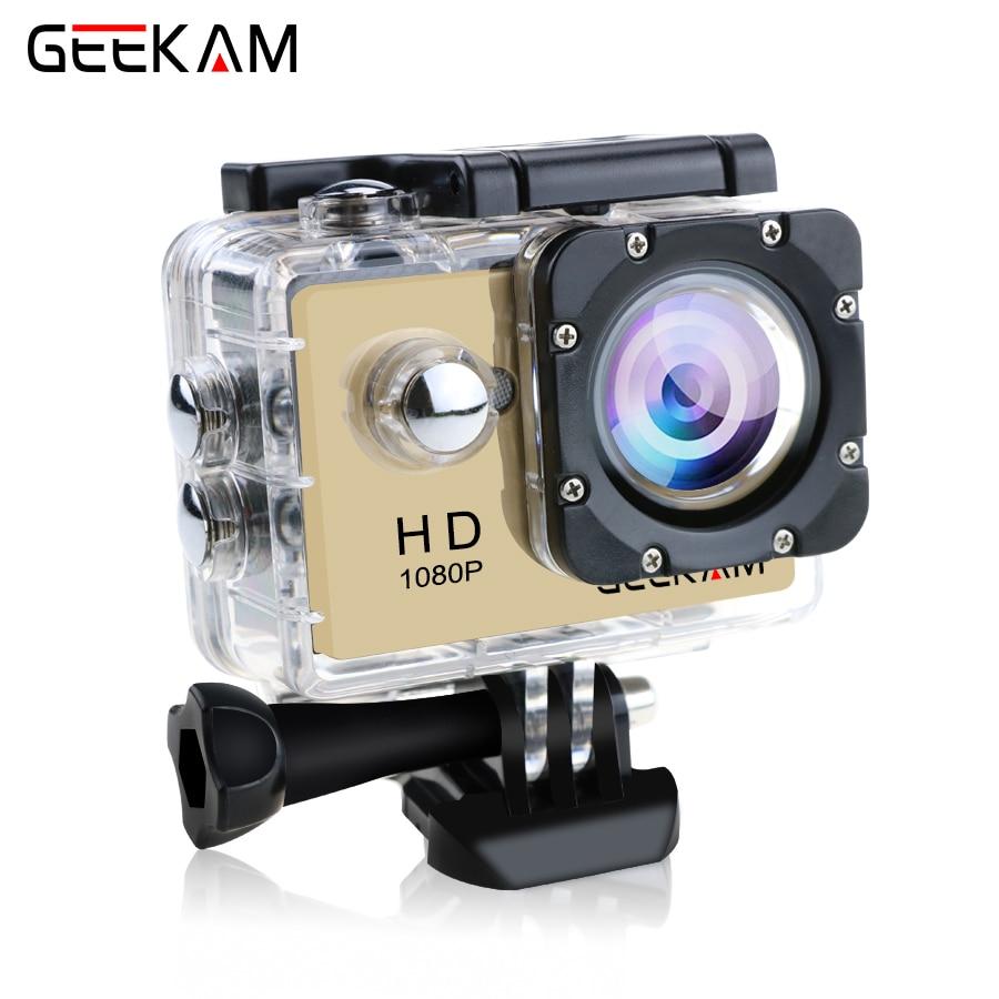 Originele GEEKAM A9 actiecamera 1080P15fps 720 P HD buitensporten pro - Camera en foto