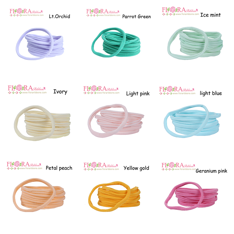 1000pcs lot Super soft wholesale nylon baby headbands soft nylon headbands