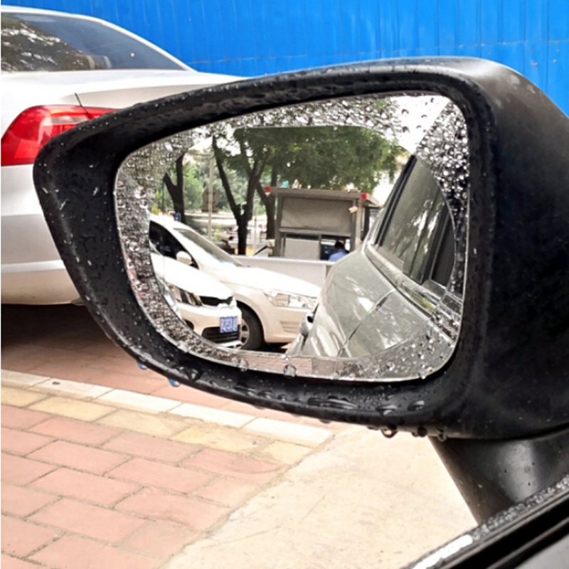 2Pcs Car Rearview Mirror Anti Water Film For Lada Priora Sedan Sport Kalina Granta Vesta X-Ray XRay