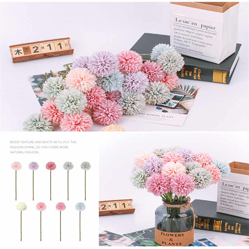 Artifical Flower Dandelion Home or Wedding Decoration Flower
