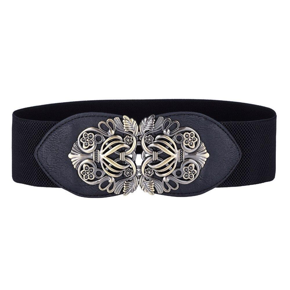 2017 Women Metal Leather Belts
