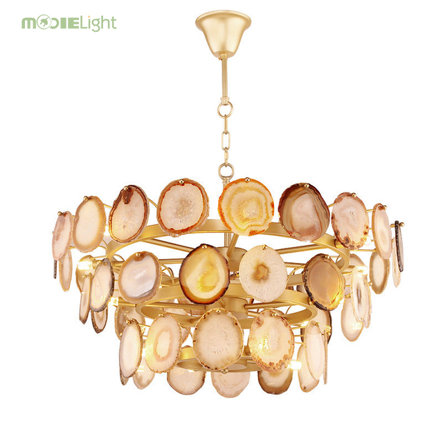 Mooielight Gold  Led Chandelier Nordic Luxury Luminarias Chandelier Lighting Led Pendant Chandelier For Living Room Led Lamparas