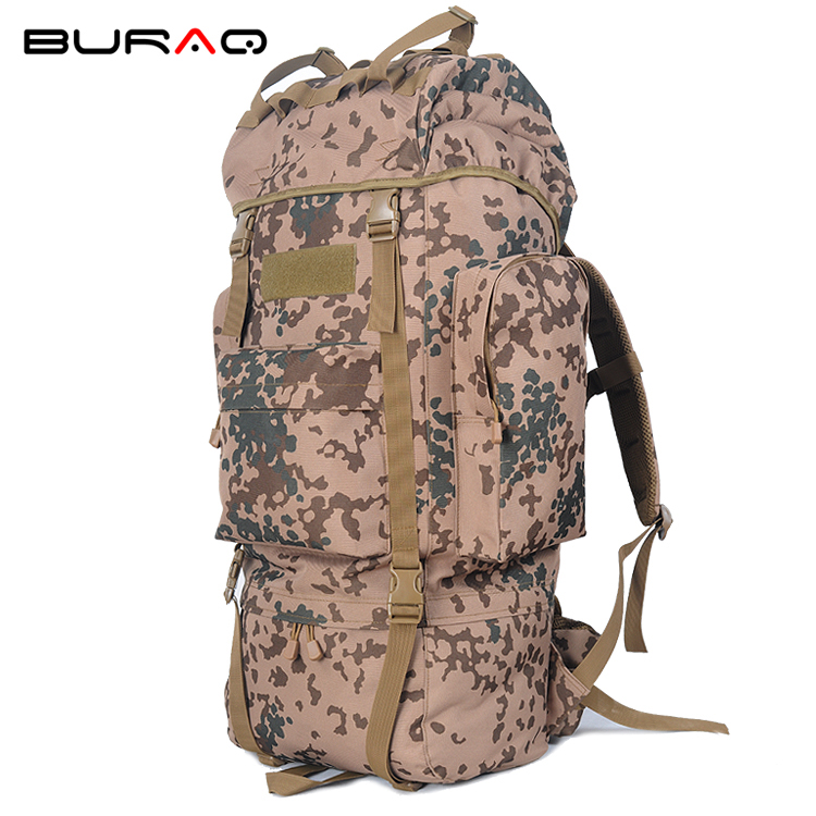 2018 Men Travel Bags Tactics Military Internal Backpack 65L Molle Camouflage Bag Motion Hiking Mountaineering Backpacks Men unisx men women shoulder bag molle system travel hike handbags tactics waterproof military camouflage multifunctional camera bag