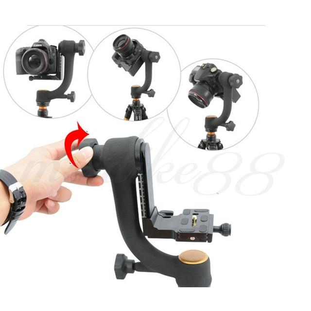 "Pro 1/4"" 360 Swivel Pro Panoramic Gimbal clamp Tripod Ball Head QZSD-45 System Free shipping"