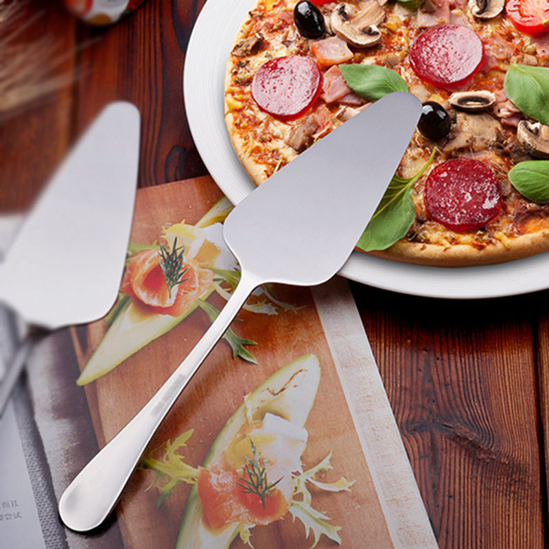 1PCS Stainless Steel Multifunction Cake Shovel Knife Pizza Shovel Cheese Cake Knives Cutter Baking Tools Best Price