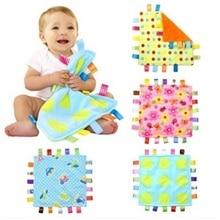 Детское успокаивающее одеяло размером 30 см, супер мягкое квадратное плюшевое детское полотенце, детские игрушки