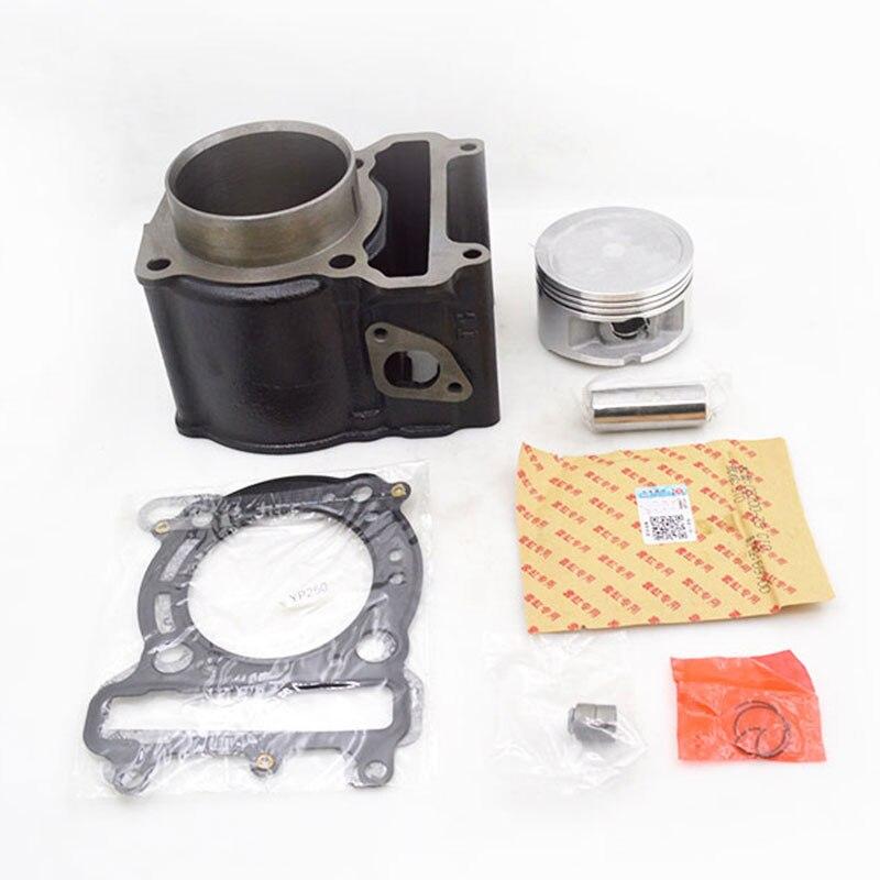 Motorcycle Cylinder Piston Ring Gasekt Kit for Yamaha Majesty YP250 YP 250 VOG 257 260 Eco