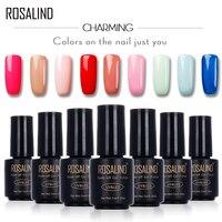ROSALIND 7ML Nude Color Varnish 1467-1864 Gel Nail Polish Nail Art Nail Gel Polish Semi Permanent UV LED Gel Lacquer