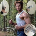 Adlut Children's version 2PCs Wolverine Claws Hard Plastic Weapons Cosplay The Props