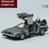 1:18 advanced DeLorean сплава Модель автомобиля игрушки, литья под давлением Металл модели игрушка автомобиль, высокого качества коллекции Concept Автом
