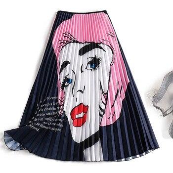 a8802228b 2017 nuevas faldas largas fucsia mujer alta cintura hasta el suelo falda de  tul verano estilo ...
