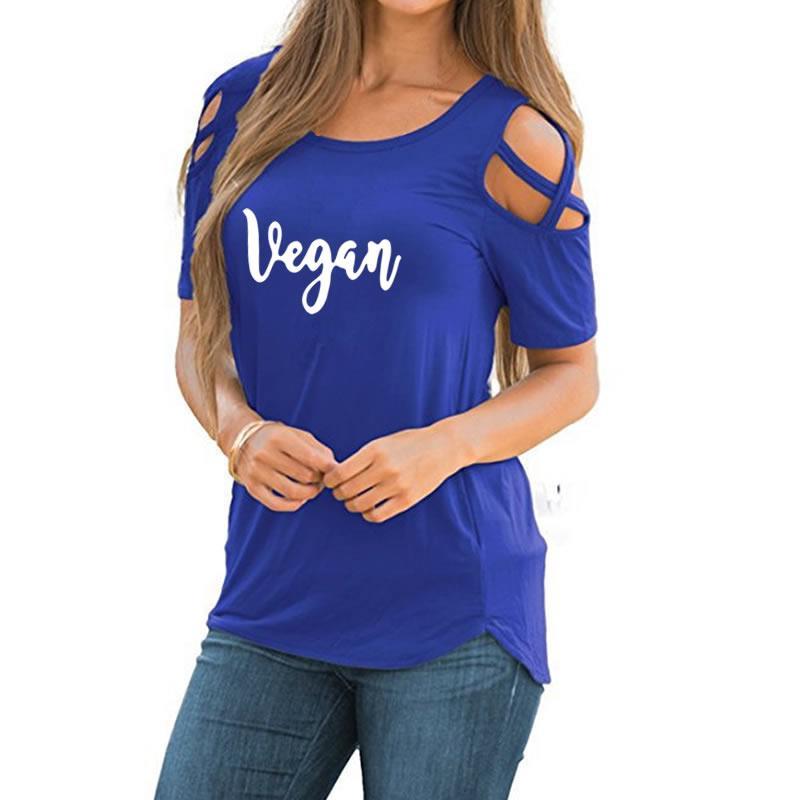 2018 Новая мода веганская Футболка с принтом лотоса женская футболка плюс размер Kawaii панк забавная Camiseta Рождественский подарок