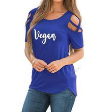 5415fb70595 2018 New Fashion Vegan Lotus Print T-Shirt Women Tshirt Plus Size Kawaii  Punk Funny
