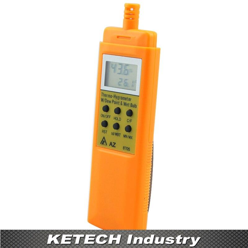 Hygrometer Temperature& Humidity Display Meter 0 to 100% AZ-8705