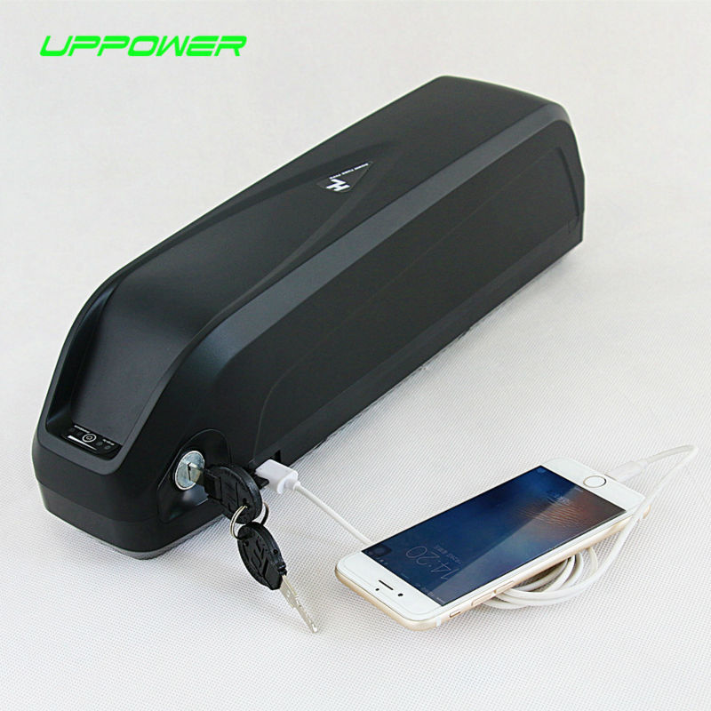 US EU AU No Tax Long Range New Hailong 52V 14Ah eBike Battery with USB 14S 51.8V li-ion battery for 1000W 1200W motor eu us no tax 1500w 51 8v li ion battery 52v 14ah e scooter battery 52v 14ah ebike battery use sanyo ncr18650ga 3500mah cell