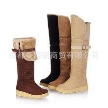 50d2d95f8 POADISFOO botas Mulheres Por Atacado Direto Da Fábrica Sapatos Quentes Botas  de Neve Sapatos Casuais Grande