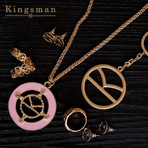 Movie Kingsman The Golden Circle Harry Hart Merlin Eggsy Cosplay...