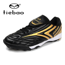 TIEBAO Unisex Outdoor Sports Football Shoes TF Turf Rubber S
