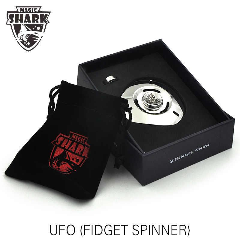 8-9 минут вращения НЛО Непоседа ручной Спиннер металлические палец снятия стресса игрушки с вращающимся верхом