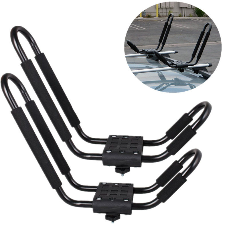 2PCS Universal Car Roof Rack Aluminum Luggage Box Roof Top Box Luggage Boat Carrier Luggage Car Rack great wall hover h2 h3 h5 h6 h8 h9 m4 high quality aluminum roof rails roof luggage rack luggage rack luggage travel framework page 1 page 2 page 2