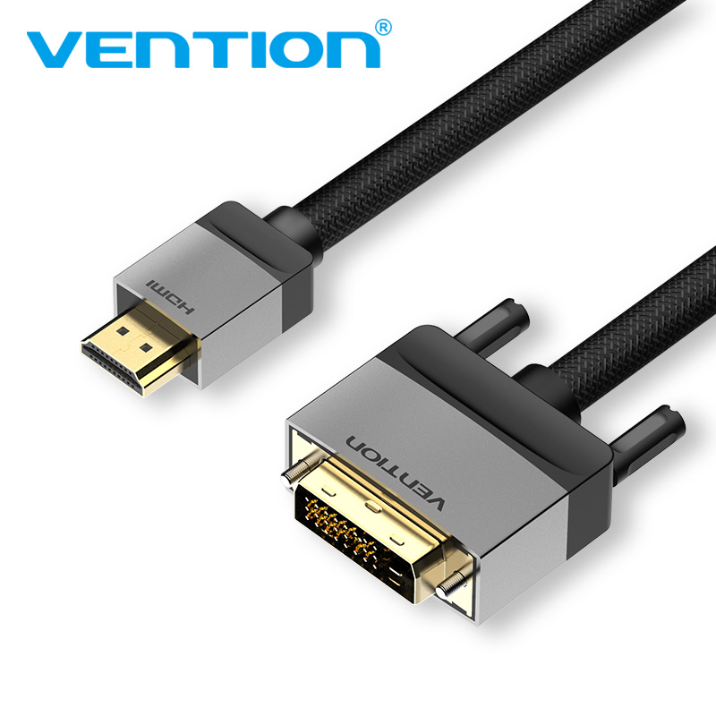 Vention HDMI to DVI Male Adapter HDMI to DVI and Audio ConverterDVI HDMI Cable For LCD DVD HDTV XBOX Projector 1080P 3D DVI HDMI