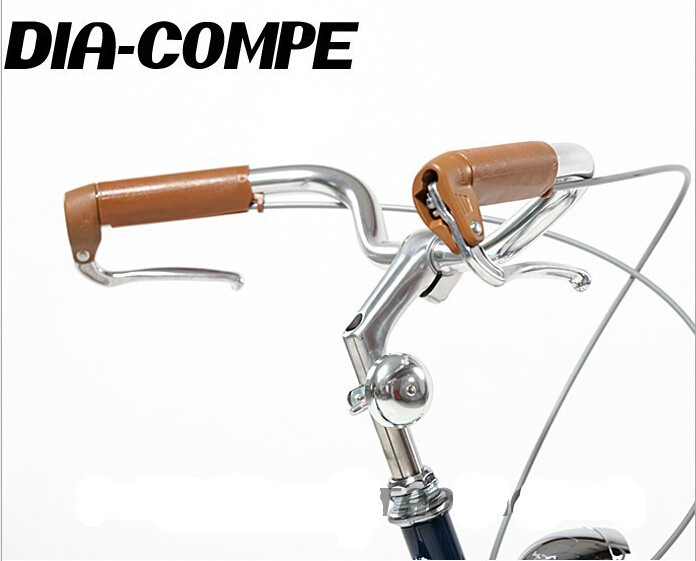 DIA COMPE vintage bicycle brake lever Bicycle brake handle Rubber Grips Aluminum brake handle