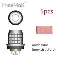 5 шт. оригинальный Freemax Fireluke сетки катушки 0.15ohm электронных сигарет Вдыхание пара катушки для Fireluke Mesh Tank Новый e-cig испаритель