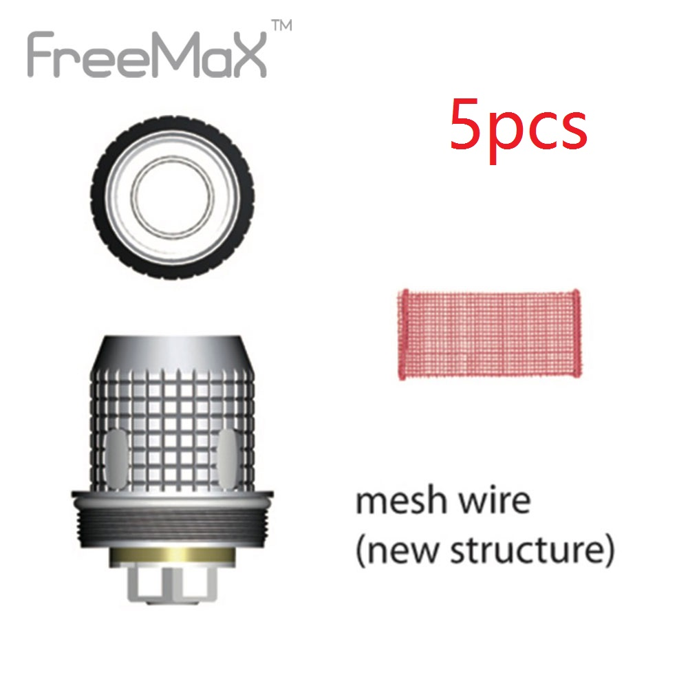 5pc Original Freemax Fireluke Mesh Coil  0.15ohm Electronic Cigarette Vaping Coil For Fireluke Mesh Tank New E-cig Vaporizer
