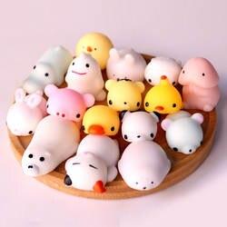 Мини Изменить цвет мягкими милый кот Антистресс мяч Squeeze Моти рост Abreact мягкий липкий снятие стресса забавная игрушка в подарок