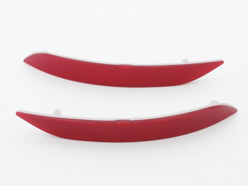2 шт/пара Красная линза задний бампер отражатель света лампы для BMW Х1 E84 серии 2013-2014