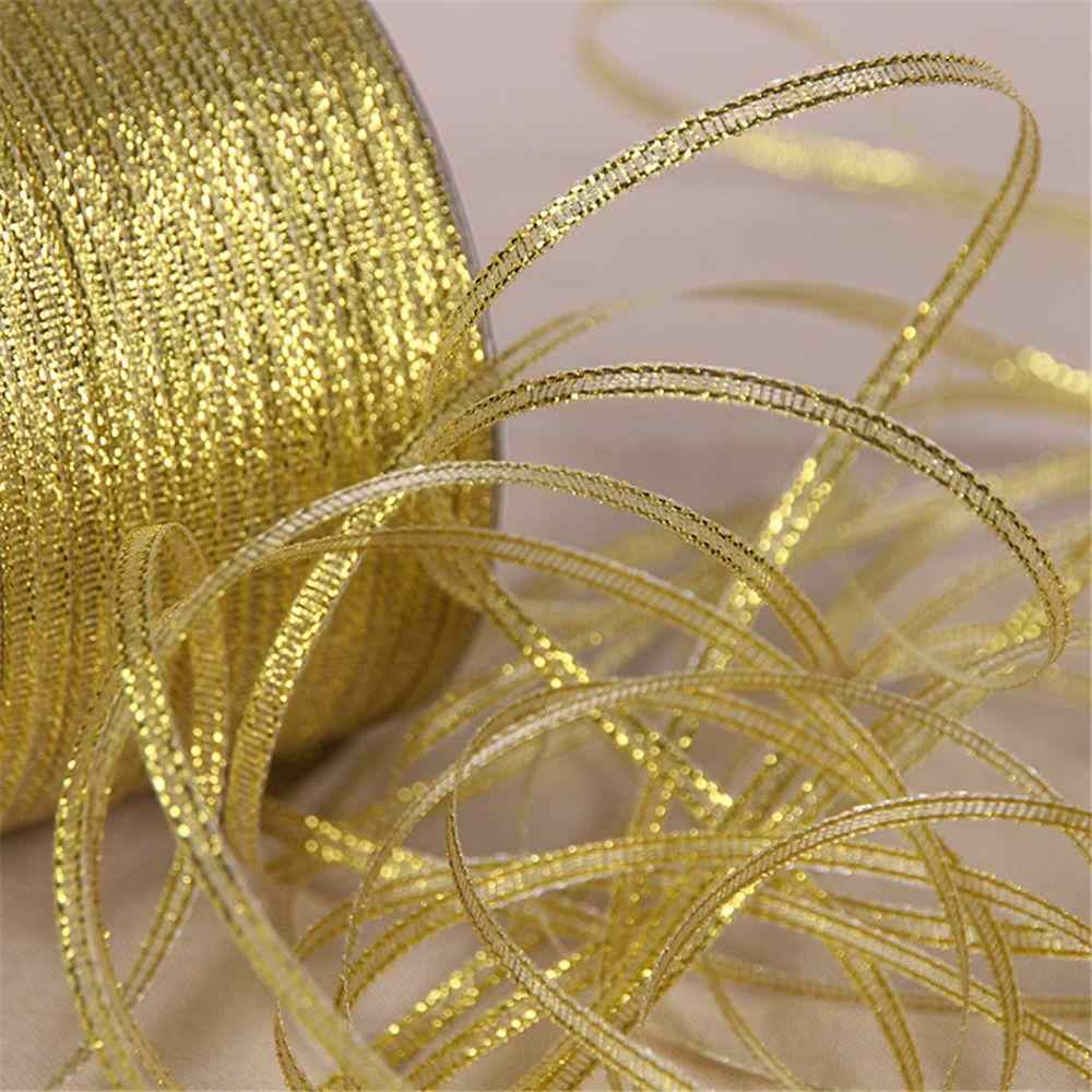 New Sale 25 yards Xmas Decorative handmade silk ribbon 6mm DIY baked cake box packaging ribbon Wedding Party Gift Satin Belt