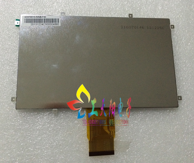 Original 7 inch 50PIN tablet computer LCD screen KD070D10-50NB-F30 цена 2016
