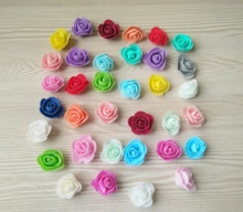 200PCS PE Foam Rose Flower Head Artificial Rose Flowers Handmade DIY Wedding Home Decoration Festive & Party Supplies 1 pack