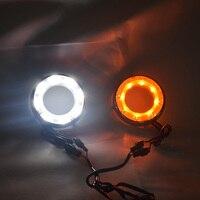 QINYI Daytime Running Lights for Toyota RAV4 LED DRL 2012 2013 RAV4 LED Fog Light Front Lamp Automobile Accessories