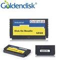GD Goldendisk Serila IDE DOM 16 ГБ SSD PATA 44PIN Вертикальный Интерфейс SMI контроллер NAND MLC Flash Встроенный Промышленный Компьютер