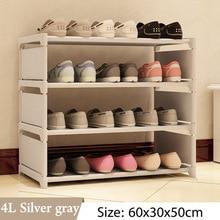 Simple Multi Layer Shoe rack Nonwovens Easy Assemble Storage Shelf Shoe cabinet fashion bookshelf Living Room Furniture