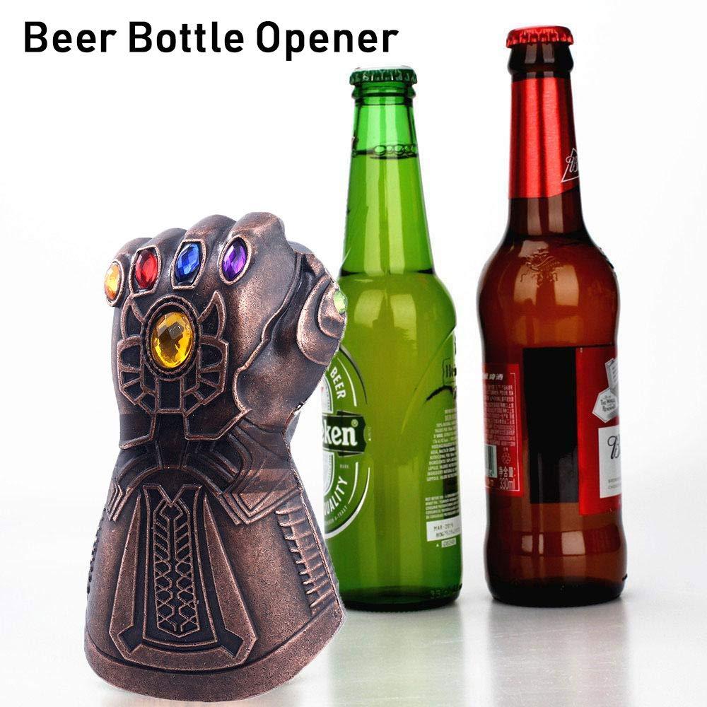 Hot Creative Multipurpose Infinity Thanos Gauntlet Glove Beer Bottle Opener Useful Soda Glass Caps Remover Kit Household 2019