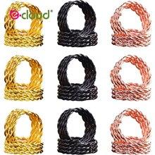 Beads Hair-Rings Dreadlock Adjustable Golden-Hair Clips Spiral-Shapes Stretch 30pcs/Bag