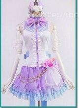 Anime LoveLive Cosplay Minami Kotori Cos Halloween conjunto completo 6in1 ( faldas + tocado + cabeza de la flor + brazaletes + cadena de la cintura )