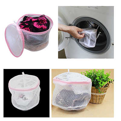 MENGXIANG silk fishing net Convenient Bra Lingerie Wash Laundry Bags Home Using Clothes Washing Nets