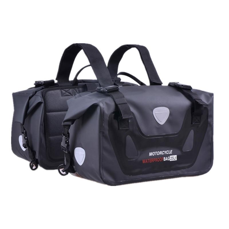Motorcycle Waterproof Bag Tank Bags Kit Knight Rider Multi-Function Portable Bags Luggage Universal Saddle Bag for Yamaha etc