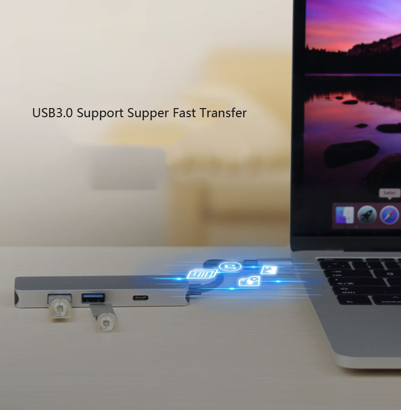 USB 3.1 Type C to 4K HDMI TV Projector Video Adapter Charging Converter USB 3.0 HUB for MacBook For Samsung Galaxy S8+ S9+ Note8