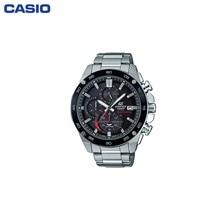 Наручные часы Casio EFS-S500DB-1A мужские с кварцевым хронографом на браслете
