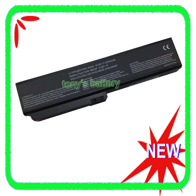 5200mAh SQU-518 Battery for Fujitsu-Siemens Amilo Si1520 Pro V3205 564E1GB SQU-522 916C4850F wzsm new laptop dc power jack for fujitsu siemens amilo m1420 m1425 k7600
