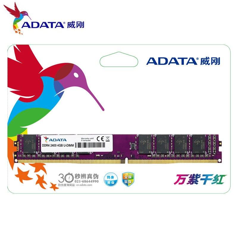 ADATA 1.2 V DDR4 2133 Mhz 4 GB 8 GB Ordinateur De Bureau PC RAM U-DIMM Vie Jeu Mémoire Béliers 288 broches PC4-17000 Nouveau