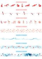розовый сакура животные васи лента декоративная скотч поделки стикер для скрапбукинга метки маскирования ленты ремесло