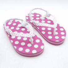 2020 夏子供ピンクスポット滑り止めサンダルソフト快適な boys girls スリッパビーチ子供靴