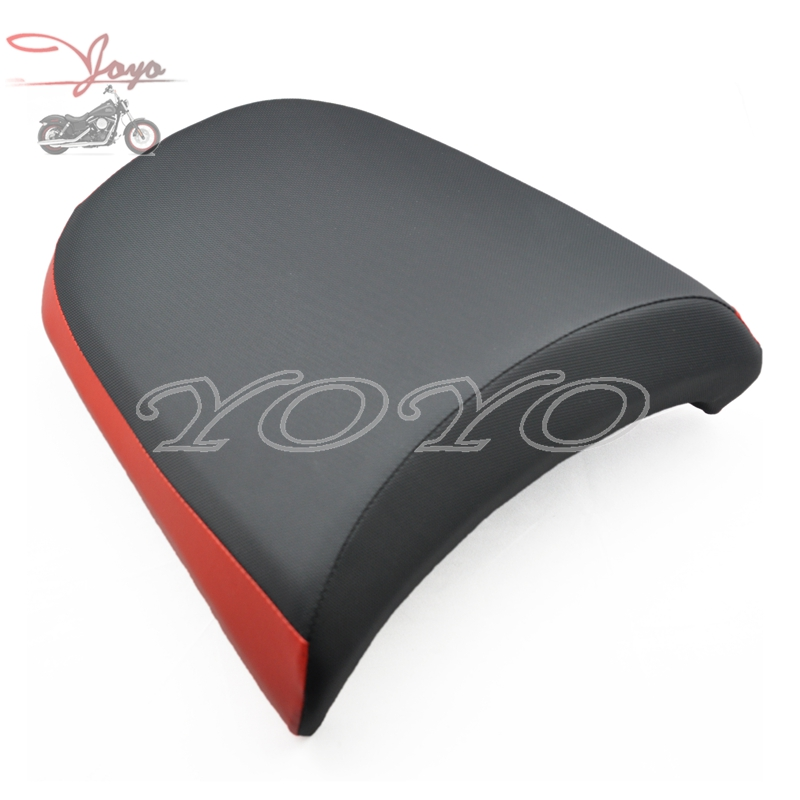 Red Strip Rear Seat Passenger Pillion Replacement Fits For BMW R1200 GS R1200GS ADV 2005 06 07 08 09 10 11 2012 hot sale motorcycle leather passenger pillion rear seat for ktm 390 duke black red orange