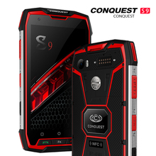 Conquest S9 128GB ROM 6GB RAM IP68 Waterproof Smartphone And